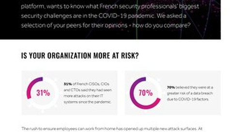 The Covid Confessions Of French CISOs