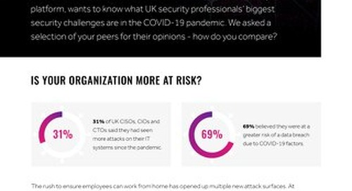The Covid Confessions Of UK CISOs
