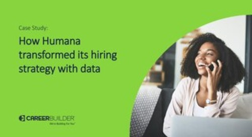 Using candidate insights for a stronger, more adaptable hiring process (case study)