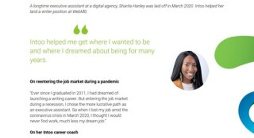 Intoo Candidate Success Story - Sharita Hanley