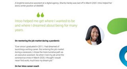 Intoo Candidate Success Story - Sharita Hanley