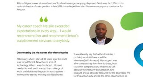 Intoo Candidate Success Story - Raymond Fields