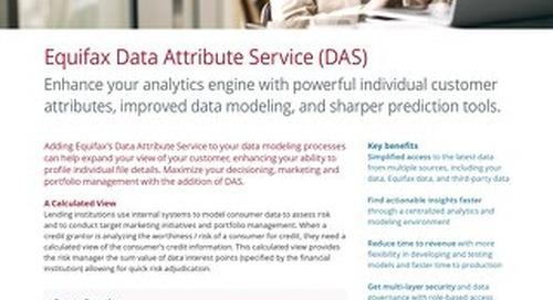 Data Attribute Service (DAS)