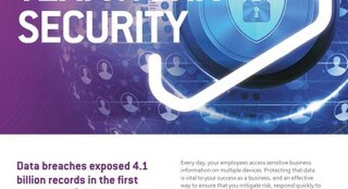 NS:GO - Teamwork Security 2020 Flyer