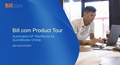 Bill.com & QuickBooks Online - Automated AP Workflows
