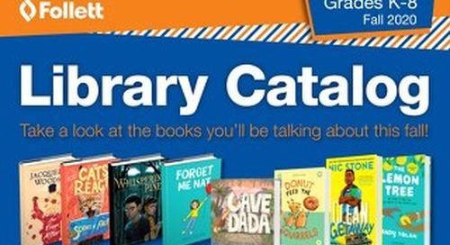 Library K-8 Fall 2020 Catalog