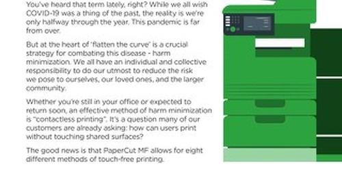 PaperCut 8 Better Ways To Print