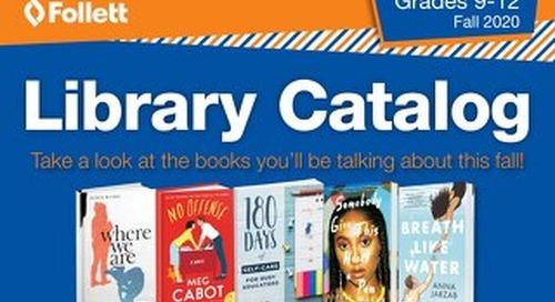Library 9-12 Fall 2020 Catalog