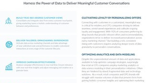 Achieving Marketing Personalization at Scale