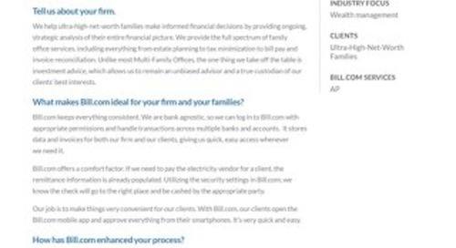 How Fortis has increased efficiency and convenience with Bill.com.
