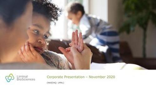 LMNL Corporate Presentation October