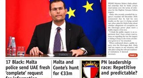 MaltaToday 16 September 2020 MIDWEEK