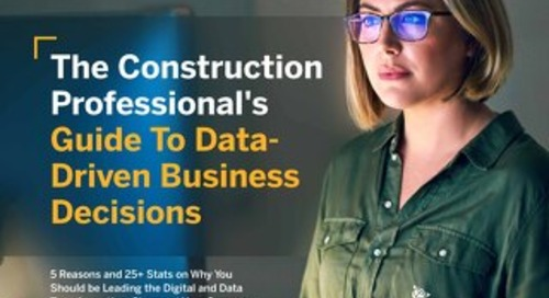The Construction Financial Professional's Guide to Data Driven Decisions