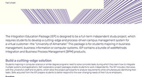Factsheet: Integration Education Package