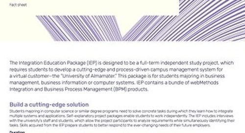 Factsheet: Integration Education Package