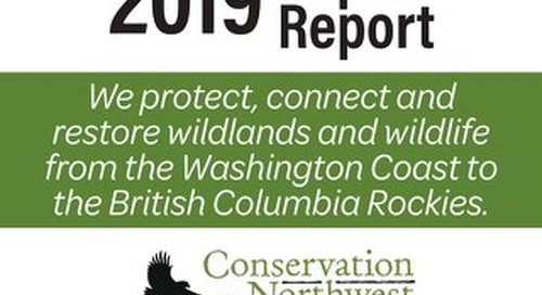 2019 Conservation NW Impact Report Final