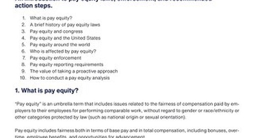 What Is Pay Equity?