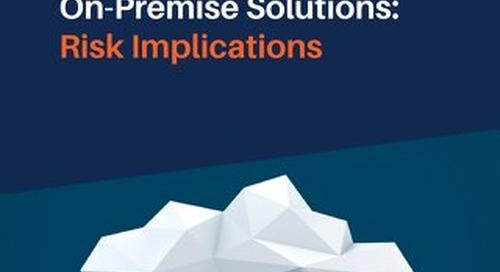 SaaS vs. On-Premise Solutions: Risk Implications