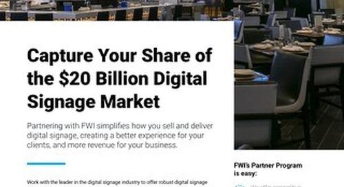 Partner With the Leading Enterprise Digital Signage Platform