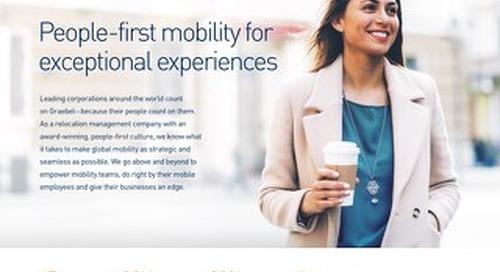Graebel Talent Mobility Service Portfolio