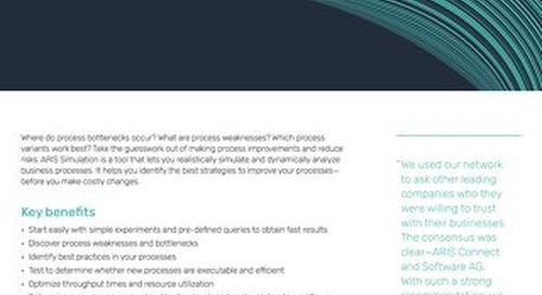 Fact Sheet: ARIS Simulation