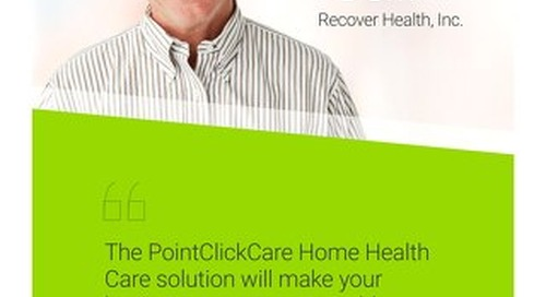 Customer Testimonial: Recover Health and PDGM