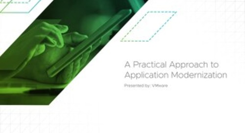 A Practical Approach to Application Modernization