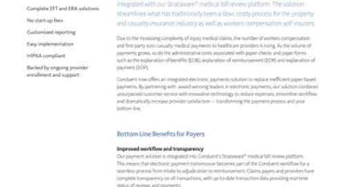 Strataware +Pay Integrated Provider Payment Solution