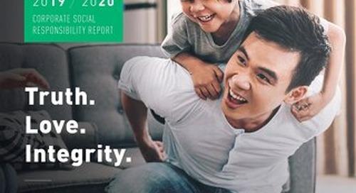 Graebel Corporate Social Responsibility Report - 2019-2020