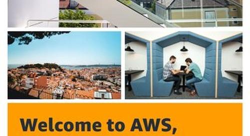 Welcome to AWS, Lisbon