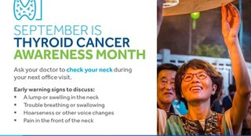 Help Build Awareness of Thyroid Cancer