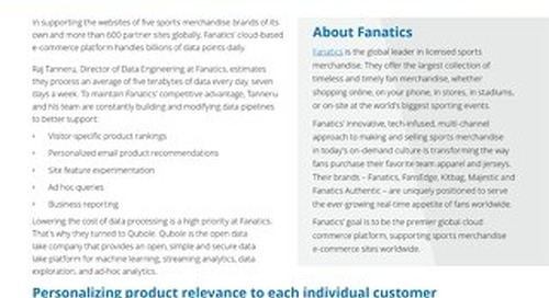 Fanatics case study