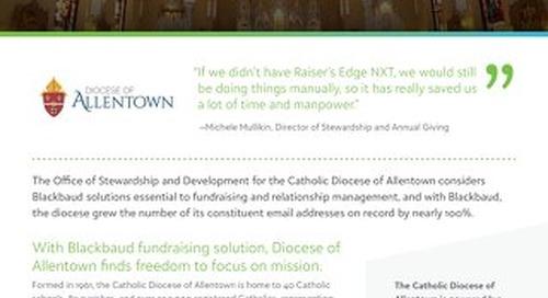 Diocese of Allentown RENXT Customer Spotlight
