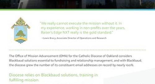Diocese of Oakland RENXT Customer Spotlight