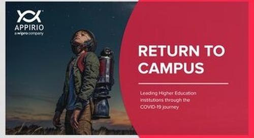 Return to Campus Webinar