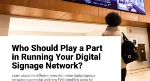 Digital Signage User Roles: Hospitality