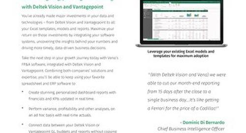 Vena and Deltek Integration