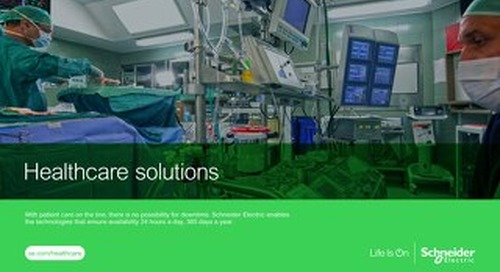 Healthcare Facility and IT Infrastructure Solutions