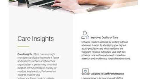 Care Insights: Solution Spotlight