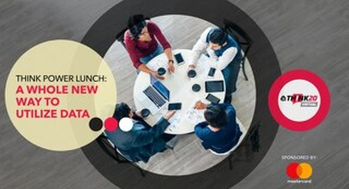 Power Lunch A Whole New Way To Utilize Data