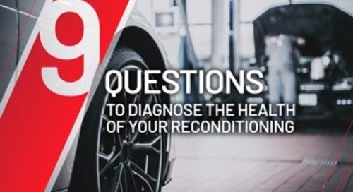 9 Questions to Diagnose the Health of Your Reconditioning