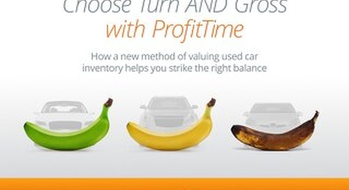 eBook: Choose Turn and Gross with ProfitTime
