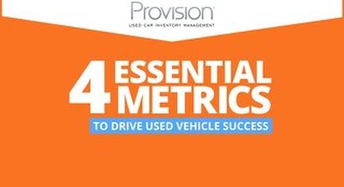 eBook: 4 Metrics to Drive Used Vehicle Success