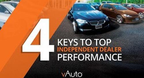 eBook: 4 Keys to top Independent Dealer Performance