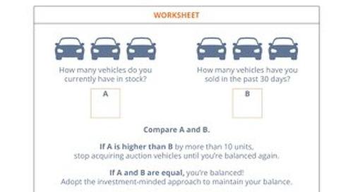 Balancing Your Lot Cheat Sheet