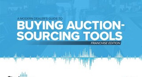 eBook: Franchise Dealers Guide to Auction-sourcing Tools