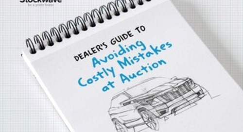 eBook: Dealers Guide to Avoiding Costly Mistakes at Auction