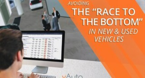 "Avoiding the ""Race to the Bottom"" in New and Used Vehicles"