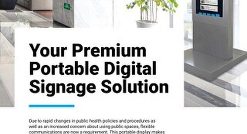 Portable Digital Signage Solution