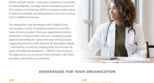 ABILITY TELEHEALTH Virtual Care